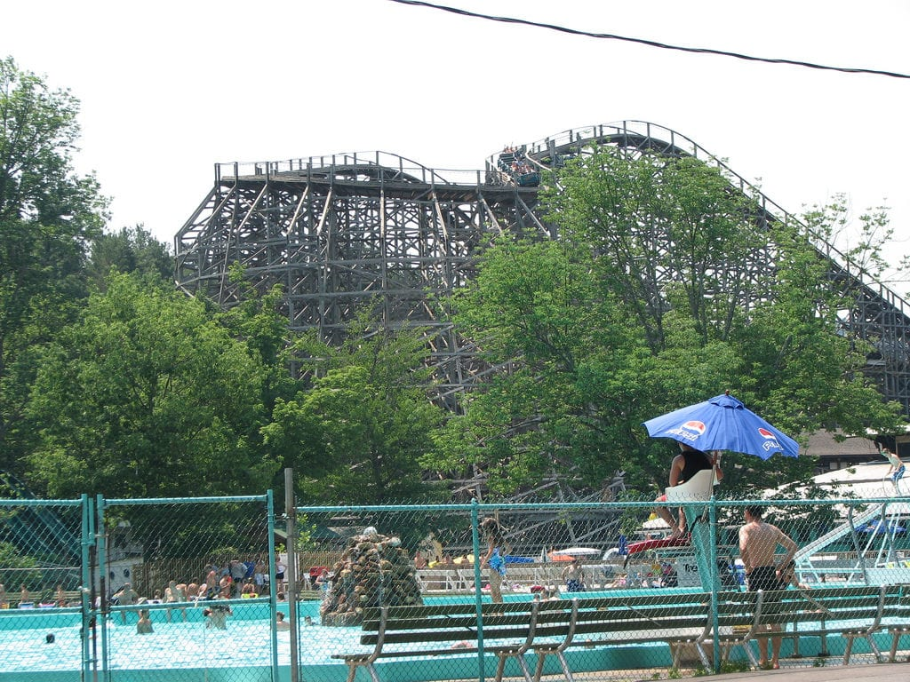 knoebels swimming pool
