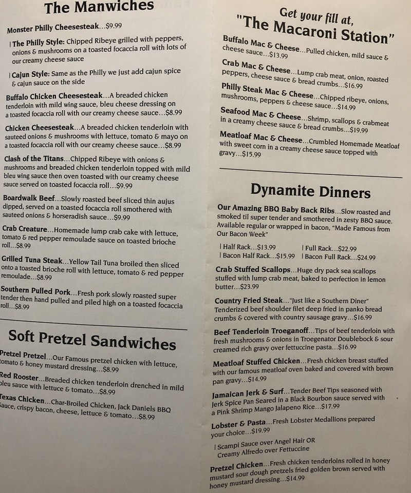 anthracite cafe menu hours wilkes barre pa