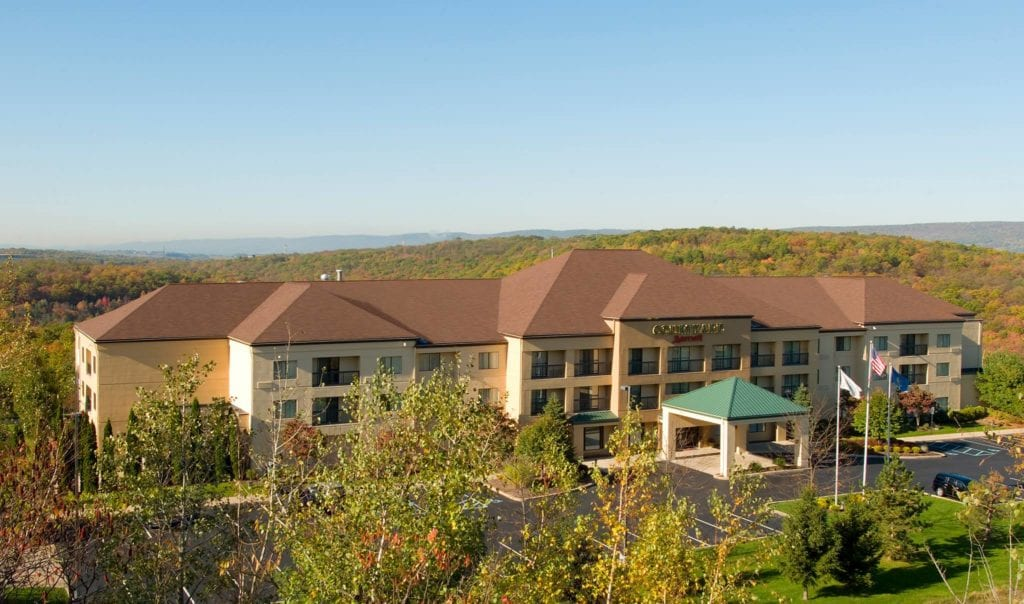 Courtyard by Marriott Scranton Wilkes-Barre near Montage Mountain just off Interstate 81