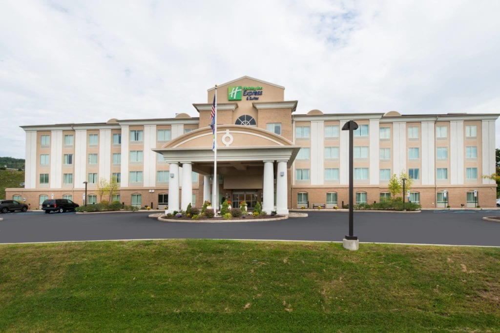 Holiday Inn Express and Suites Dickson City with indoor pool