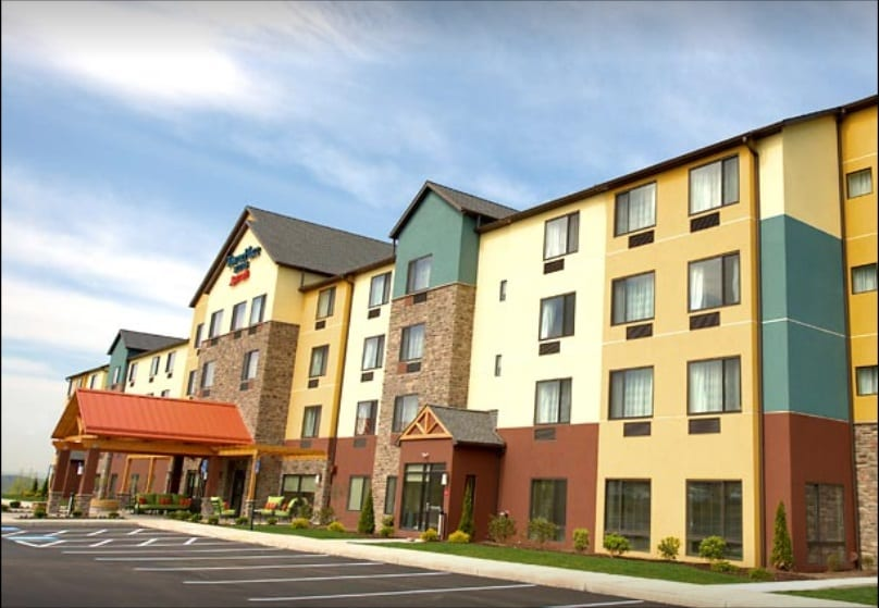 TownePlace Suites by Marriott Scranton Wilkes-Barre indoor pool and hot tub